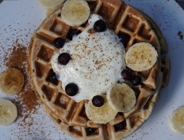 Rice Protein Waffles