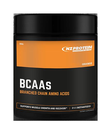 nzprotein BCAA 300g orange flavour