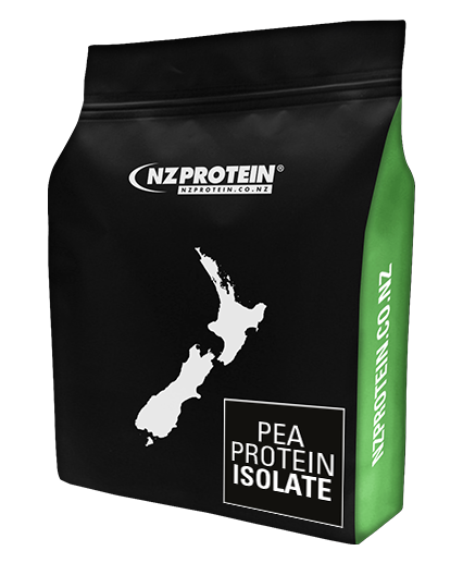 nzprotein pea protein powder pouch 1kg with green