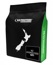 nzprotein hydrolysed whey isolate 1kg with green