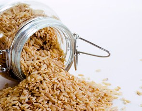 brown rice used to manufacture